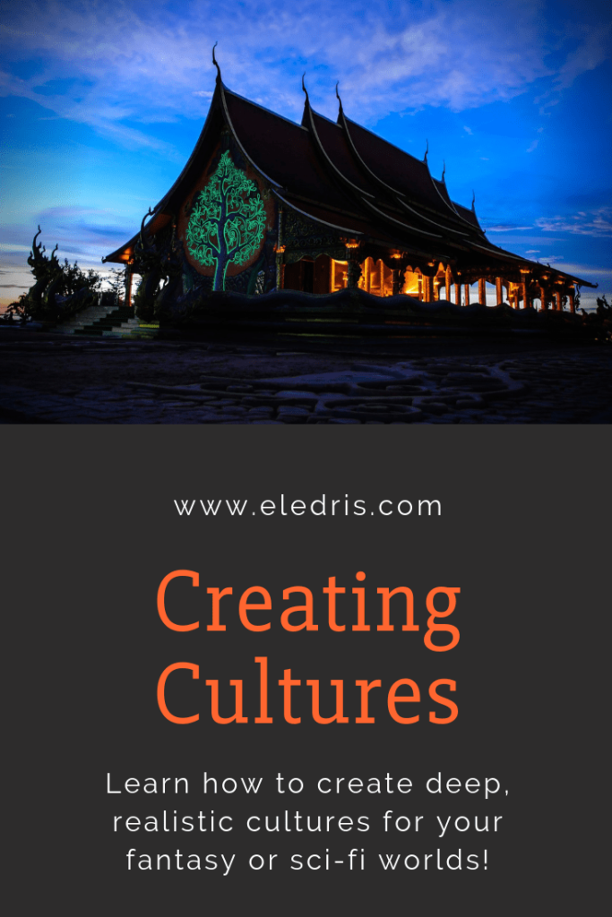 An in-depth guide to creating cultures for all worldbuilders, whether it be fantasy, or sci-fi worlds!