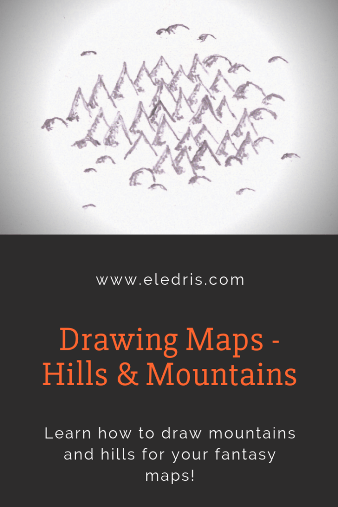 Learn how to draw mountains for maps!